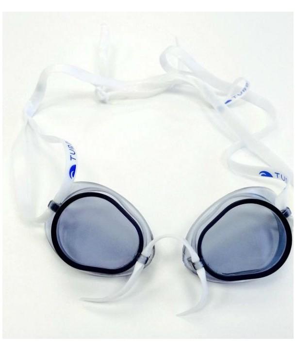 Gafas suecas turbo con silicona blue