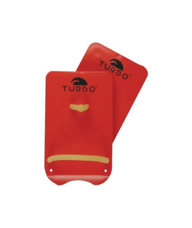 Palas Natación de marca turbo rectangular roja