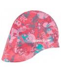 Gorro tela para bebé de speedo rosa