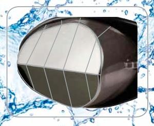 forma de la gafa arena