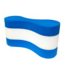 Pull Buoy SOFTEE Bicolor Azul-Blanco