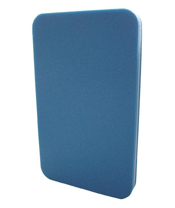 Tabla de entrenamiento natación mediana azul