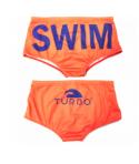 Bañador unisex TURBO lastre (carga, resistencia, peso) Naranja