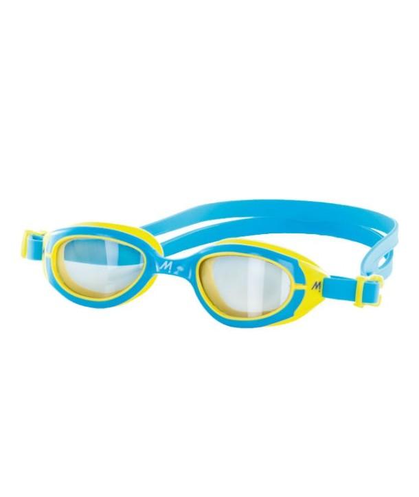 Gafas Natación Mosconi Fit azul amarilla 21.07