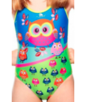 Bañador mujer TURBO Owl 1 capa PBT TA