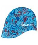 Gorro natación tela para bebé SPEEDO azul