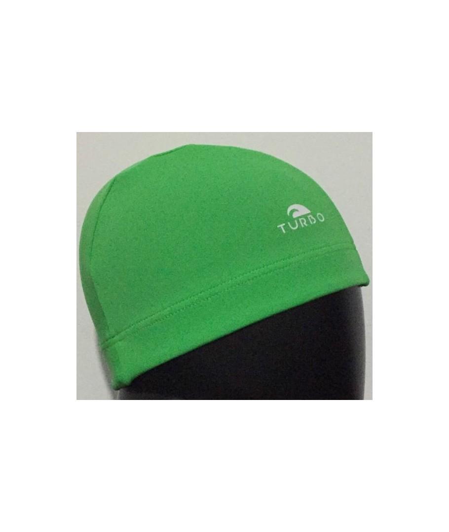 a944f63a Gorro tela licra color verde-clubnatacion.com
