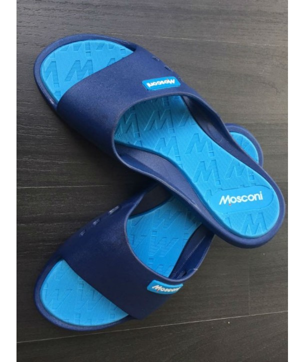Chanclas Zapatilla olympic Mosconi azul estrecha