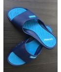 Chanclas olympic MOSCONI azul estrecha