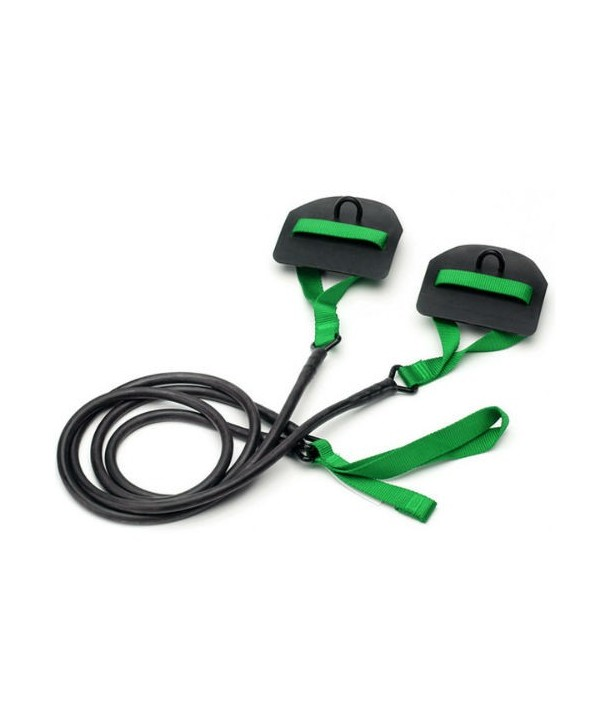 Goma con palas STRECHCORDZ verde 3.6-10.8 kg