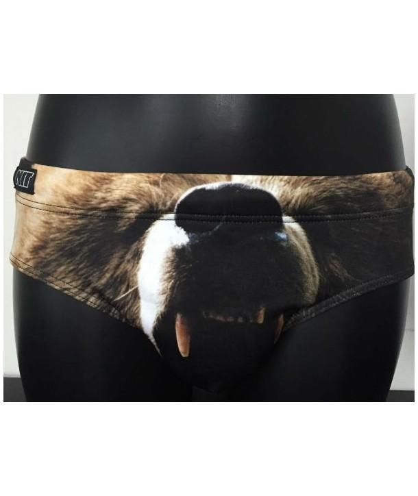 Bañador slip NIT hombre BEAR ANIMAL PRINT