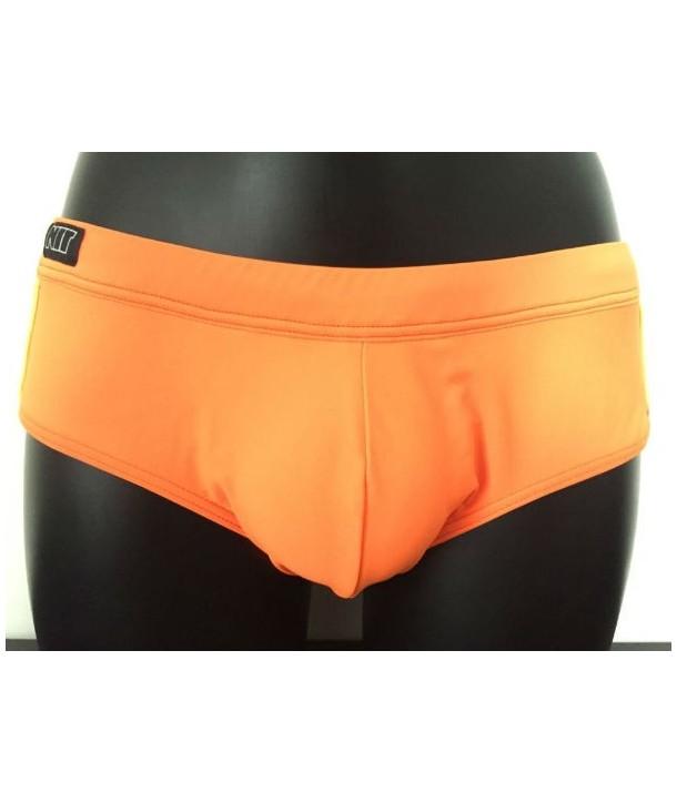 Bañador slip NIT hombre pack up naranja/rosa