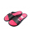 Chanclas Zapatilla olympic Mosconi negra fuxia