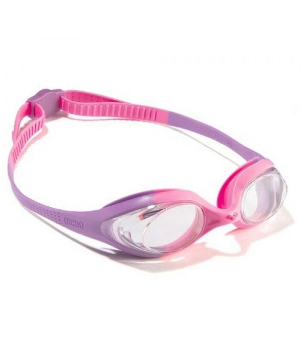 Gafas arena spider JR violet-clear-pink
