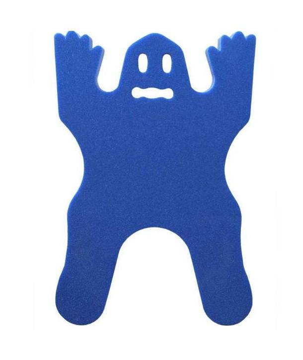 Tapíz softee con forma de FANTASMA azul