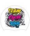 Gorro Natación Silicona Turbo SWIM CYCLE RUN