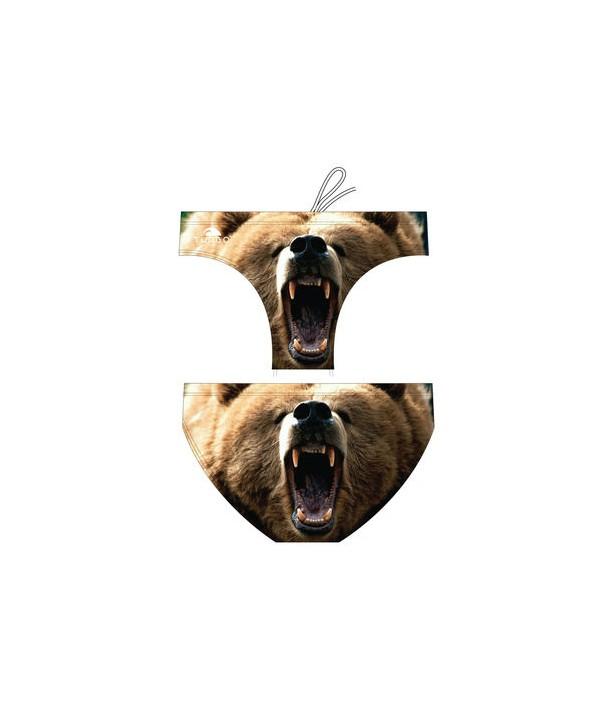 Bañador slip hombre Turbo BEAR ANIMAL 1 capa