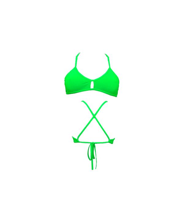 Top biquini TURBO Active Top Verde