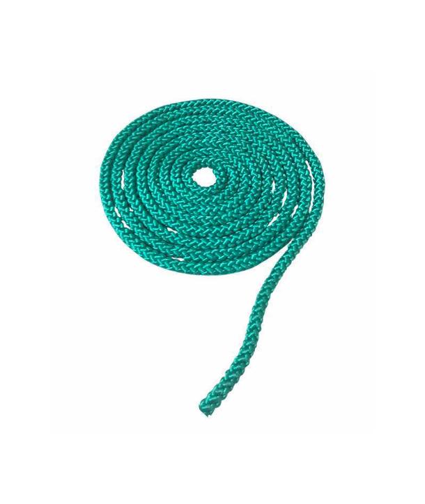 Cuerda, comba de 250cm, LARGO 1.5M VERDE