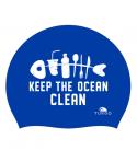 Gorro natación silicona TURBO Clear Ocean