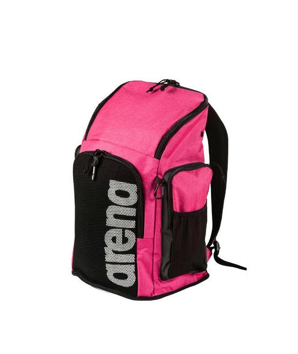 Mochila ARENA team 45 backpack pink melange