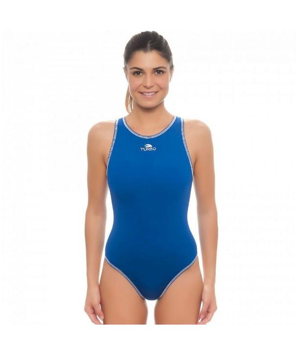 Bañador waterpolo Mujer Turbo Confort Royal