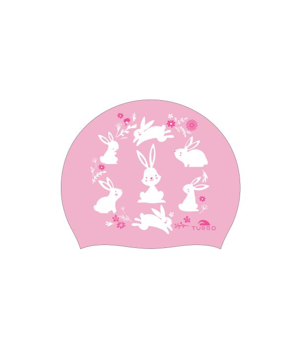 Gorro natación silicona TURBO Little Bunny