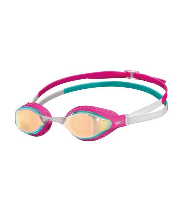 Gafas natación ARENA AIRSPEED MIRROR YELLOW COPPER/PINK