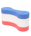 Pull Buoy SOFTEE Bicolor Rojo-Azul-Blanco